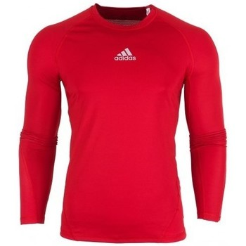Oblečenie Muži Tričká s dlhým rukávom adidas Originals Alphaskin LS Červená