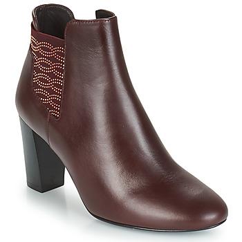 Topánky Ženy Čižmičky Bocage ELYSEE Bordová