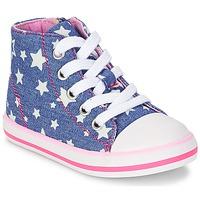 Topánky Dievčatá Členkové tenisky Chicco CREMIXI Denim / Etoile