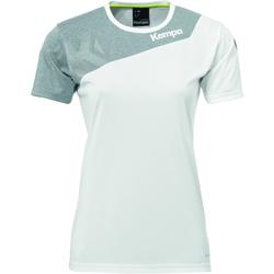 Oblečenie Ženy Tričká s krátkym rukávom Kempa Maillot femme  Core 2.0 blanc/gris
