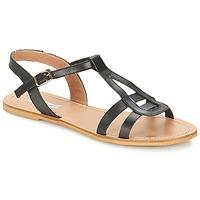 Topánky Ženy Sandále So Size DURAN Čierna