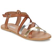Topánky Ženy Sandále So Size AVELA Oriešková