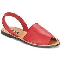 Topánky Ženy Sandále So Size LOJA červená