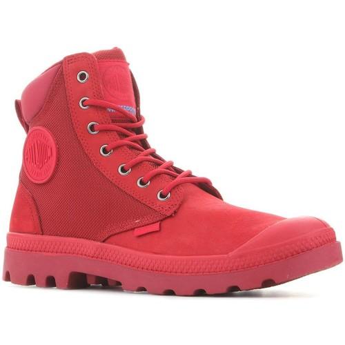 Topánky Polokozačky Palladium Pampa Sport Cuff WPN 73234-653 red