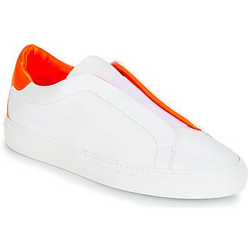 Topánky Ženy Nízke tenisky KLOM KISS Biela / Oranžová