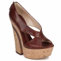 Topánky Ženy Sandále Casadei ELEANORE Gaštanová