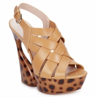 Topánky Ženy Sandále Casadei MAGGY Sweet / Telová