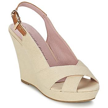 Topánky Ženy Sandále Moony Mood AKOLM Béžová