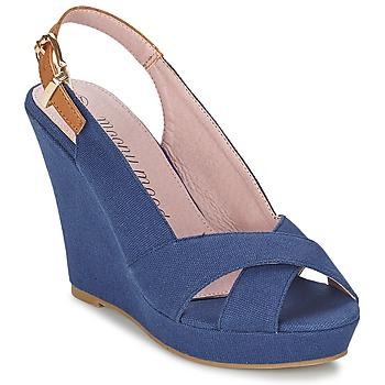 Topánky Ženy Sandále Moony Mood AKOLM Námornícka modrá