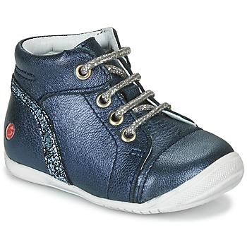 Topánky Dievčatá Polokozačky GBB ROSEMARIE Námornícka modrá