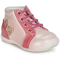 Topánky Dievčatá Členkové tenisky GBB FRANCKIE Ružová