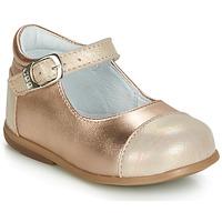 Topánky Dievčatá Balerínky a babies GBB BELISTO Ružová / Zlatá