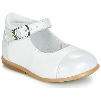 Topánky Dievčatá Balerínky a babies GBB BELISTO Biela