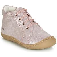 Topánky Dievčatá Členkové tenisky GBB VEDOFA Ružová