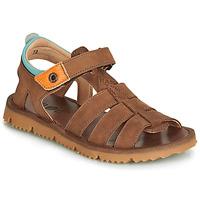 Topánky Chlapci Sandále GBB PATHE Hnedá
