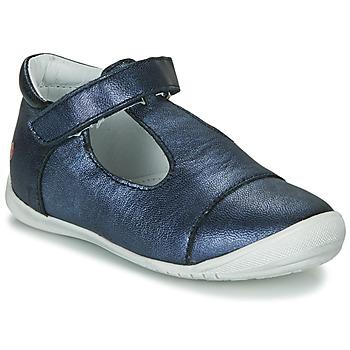 Topánky Dievčatá Balerínky a babies GBB MERCA Modrá