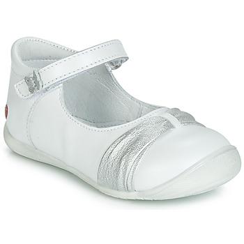 Topánky Dievčatá Balerínky a babies GBB MALLA Biela