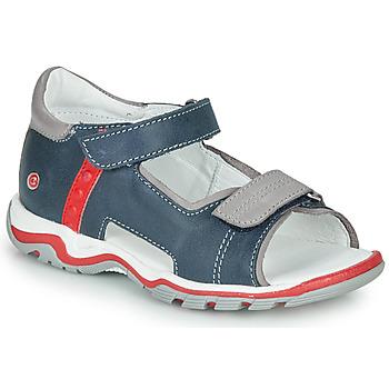 Topánky Deti Sandále GBB PARMO Modrá