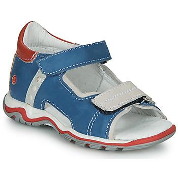 Topánky Deti Sandále GBB PARMO Modrá / Červená