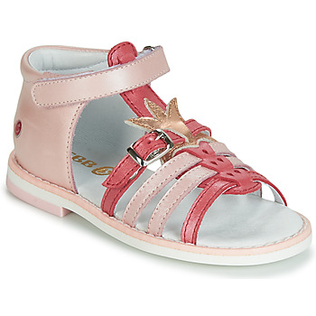 Topánky Dievčatá Sandále GBB CARETTE Ružová