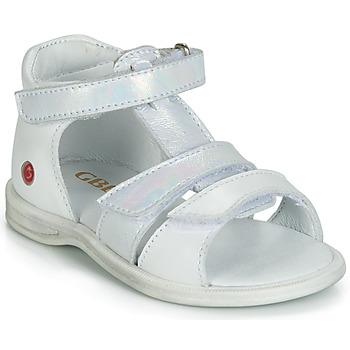 Topánky Dievčatá Sandále GBB NAVIZA Biela