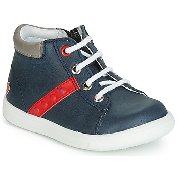 Topánky Chlapci Členkové tenisky GBB FOLLIO Námornícka modrá / Červená
