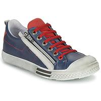 Topánky Chlapci Nízke tenisky GBB STELLIO Námornícka modrá / Červená