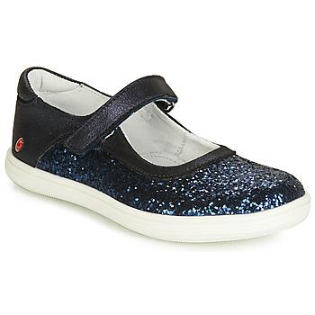 Topánky Dievčatá Balerínky a babies GBB PLACIDA Námornícka modrá