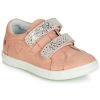 Topánky Dievčatá Nízke tenisky GBB BALOTA Ružová / Strieborná
