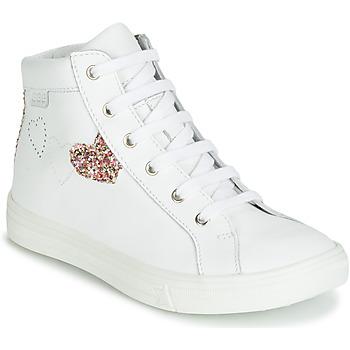 Topánky Dievčatá Členkové tenisky GBB MARTA Biela / Viacfarebná