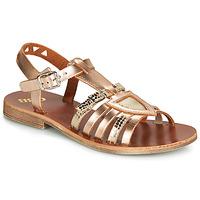 Topánky Dievčatá Sandále GBB FANNI Bronzová