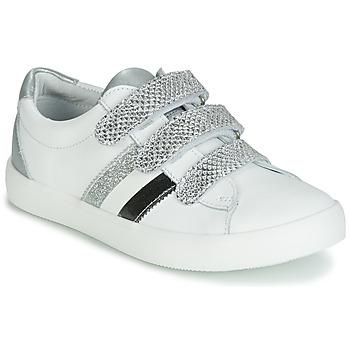 Topánky Dievčatá Nízke tenisky GBB MADO Biela / Strieborná