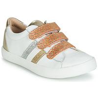 Topánky Dievčatá Nízke tenisky GBB MADO Biela / Zlatá