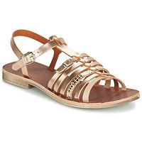 Topánky Dievčatá Sandále GBB BANGKOK Ružová / Zlatá