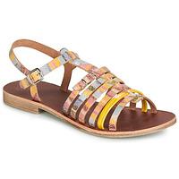 Topánky Dievčatá Sandále GBB BANGKOK Viacfarebná / Žltá