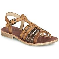 Topánky Dievčatá Sandále GBB BANGKOK Koňaková