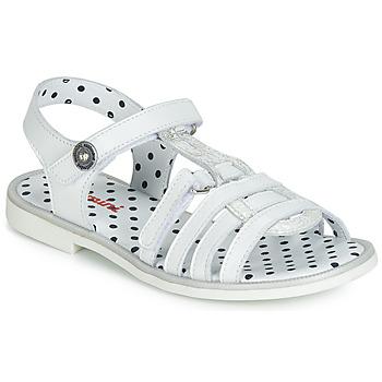Topánky Dievčatá Sandále Catimini MUNDA Biela