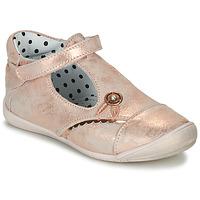 Topánky Dievčatá Balerínky a babies Catimini SANTA Ružová / Zlatá
