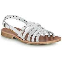 Topánky Dievčatá Sandále Catimini NOBO Biela