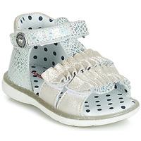 Topánky Dievčatá Sandále Catimini BIRA Strieborná
