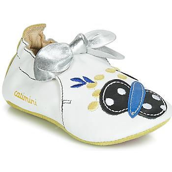 Topánky Dievčatá Papuče Catimini CATIVA Biela