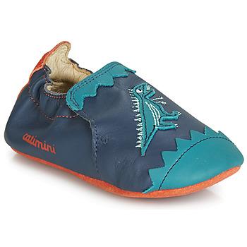 Topánky Chlapci Papuče Catimini CADANO Námornícka modrá / Oranžová