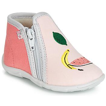 Topánky Dievčatá Papuče GBB FERNANDA Ružová