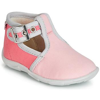 Topánky Dievčatá Papuče GBB GARALA Ružová