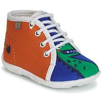 Topánky Chlapci Papuče GBB MARCCO Oranžová / Modrá