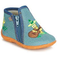 Topánky Chlapci Papuče GBB FERNANDO Modrá