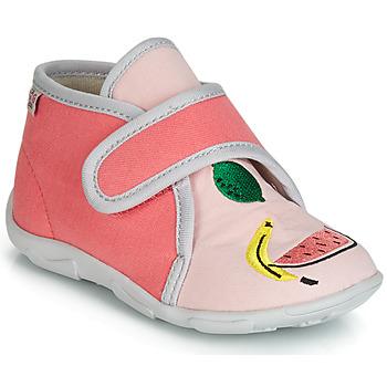 Topánky Dievčatá Papuče GBB MASSINA Ružová