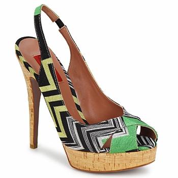 Topánky Ženy Sandále Missoni RM71 Zelená