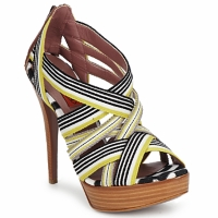 Topánky Ženy Sandále Missoni RM20 Žltá / Biela