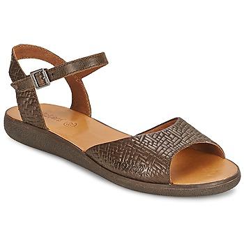 Topánky Ženy Sandále Kickers HYPSY Hnedá